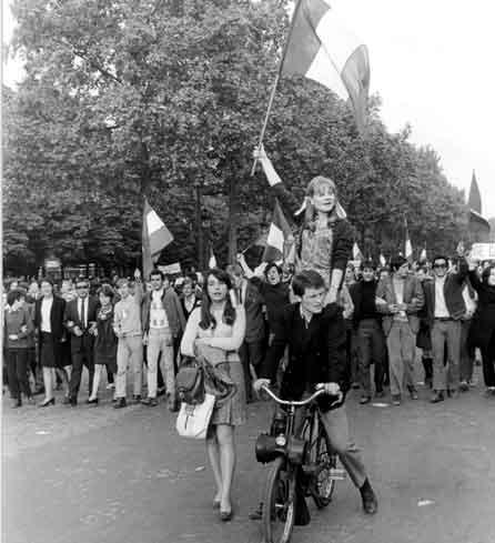 Paris, Solex, Mai 68