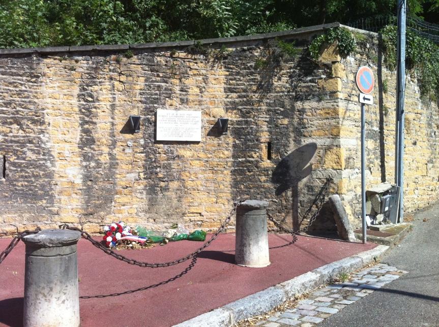 Pour la mémoire... Montée de Balmont, Lyon 9.