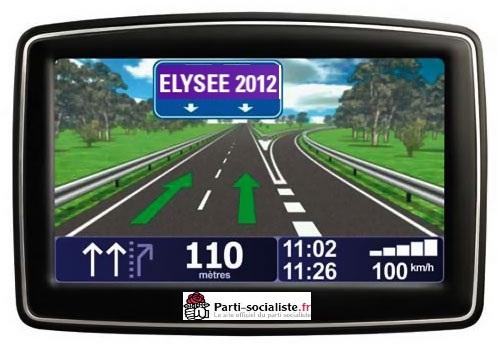 Elysée 2012: Le PS en mode GPS.[Récit]…
