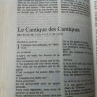 Livre ''rose'' des Écritures: Le «Cantique des Cantiques»...