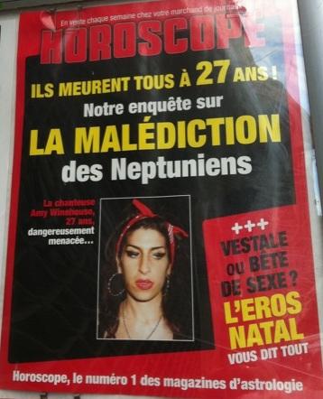 Amy Winehouse dans le Select ''Club des 27 ans'': C'est quoi ce truc?... (1/3)