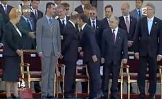 14 Juillet, Paris: Le Syrien Bachar Al Assad sur les ChampsElysées….