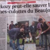 Opération ''des couches-culottes pour Carla Bruni Sarkozy'' ...