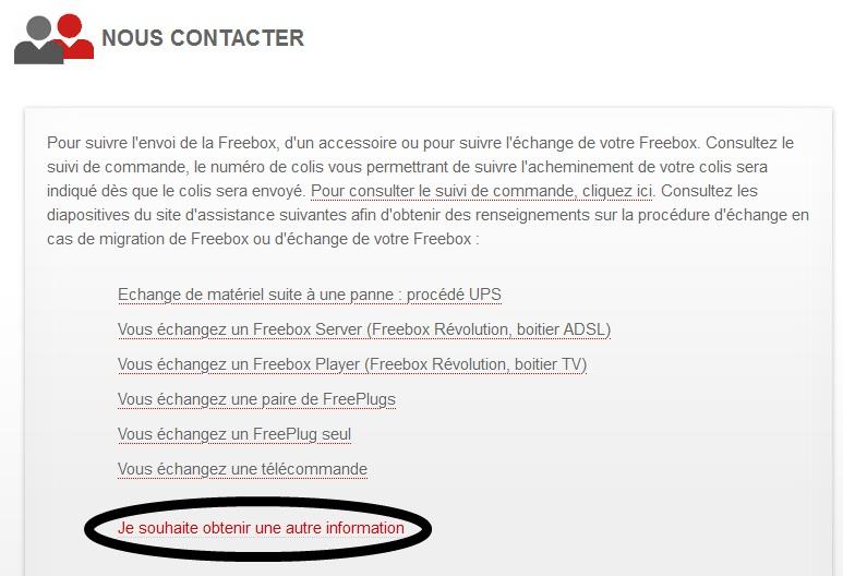 FreeBox: Voici comment contacter le service client free par Mail... (6/6)