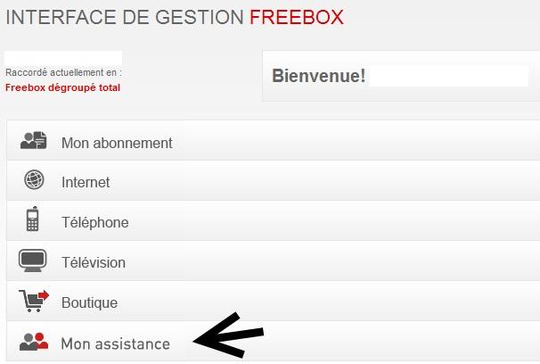comment devenir client free