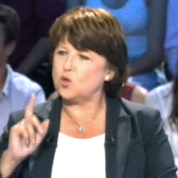 REPLAY: Oui, Martine Aubry a beaucoup d'humour...