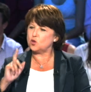 REPLAY: Oui, Martine Aubry a beaucoup d'humour…