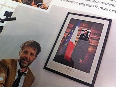 Pour Stéphane Guillon aussi, C'est FrançoisHollande…