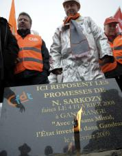 Après Gandrange, Florange: Nicolas Sarkozy et leMittal…
