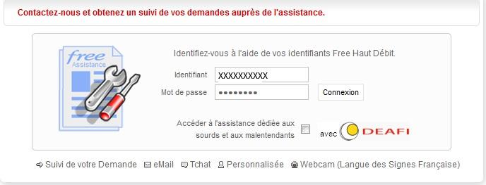 FreeBox: Voici comment contacter le service client free par Mail... (4/6)