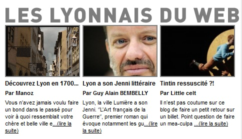 Tribune de Lyon: Les  traboules lyonnaises du Web2.0