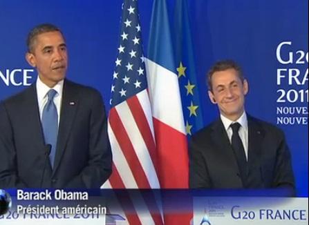 Bref! Mister Obama: On avait dit, pas sur le physique!….