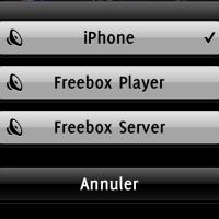 FreeBox HD Player et iPhone: Partagez votre musique…