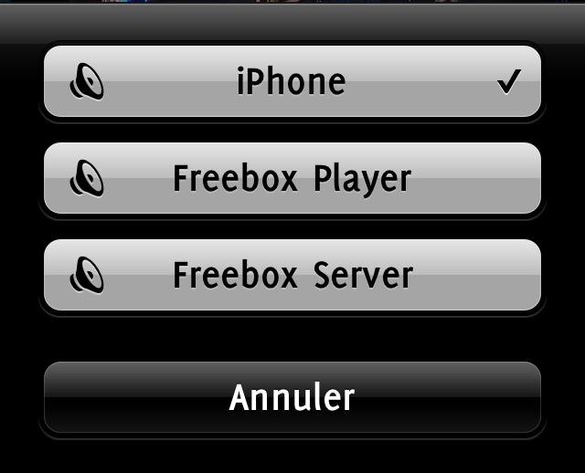 FreeBox HD Player et iPhone: Partagez votremusique…