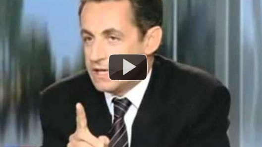 Sarkozy rattrapé par son passé: Le taux de chômage à moins de5%…