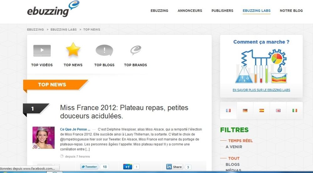 Miss France 2012: Plateau repas, petites douceurs acidulées. (3/3)