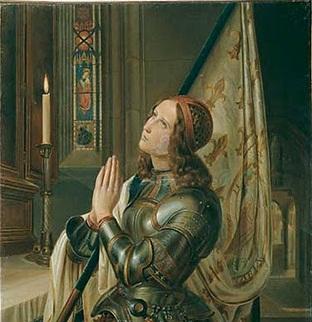 Notre Jeanne, Qui es aux Cieux,Que…