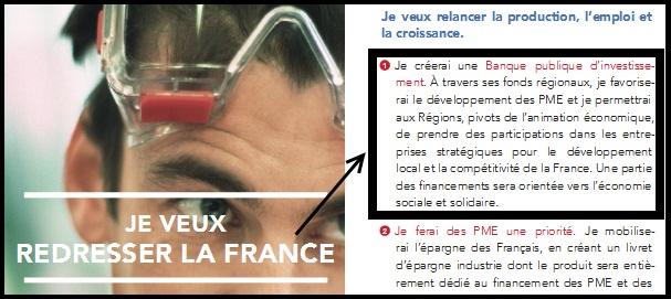 Quand Sarkozy s'inspire du Projet de FrançoisHollande…