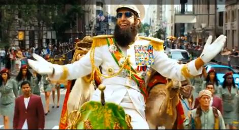 Clin d'œil politique: The Dictator-le-Film, juin2012…