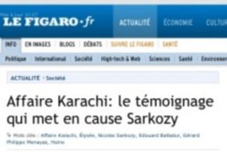 Le Figaro ''lache'' Nicolas Sarkozy viaKarachi…