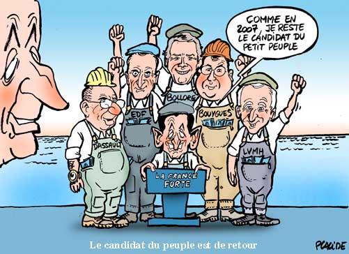Anosognosie> Quelqu'un peut dire à Sarkozy qu'il serépète?