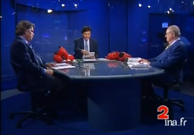 Remember le clash Tapie – Le Pen> Menu plaisir…