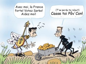 La fable de Sarkozy > »la Cigale et la Fourmi»…