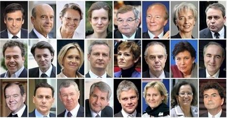 Les présidentiables de l'UMP pour 2017