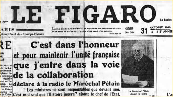 Le Figaro > La revue des UNE sur François Hollande(vidéo)…