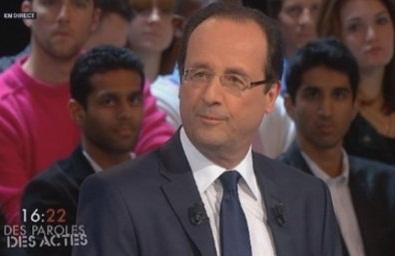 François Hollande > De vraies paroles et desactes…