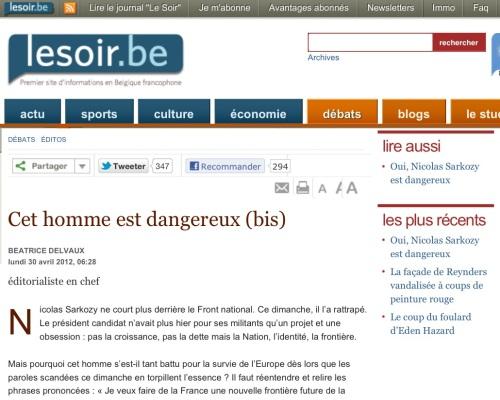 Sarkopen, dangereux> L'avis des officines européennes…
