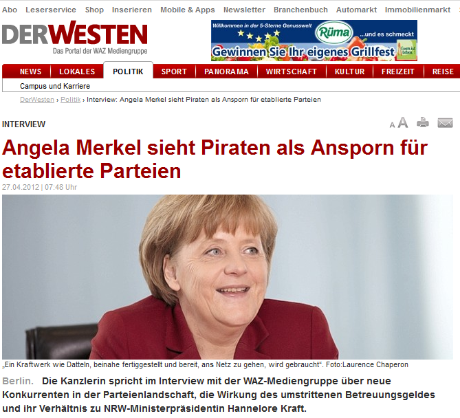La croissance de F. Hollande > A. Merkel 06Maiaussi…