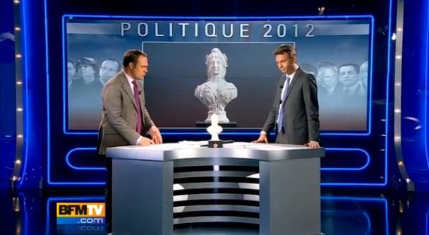 Présidentielle2012> Rétention intellectuelle surBFMTV…