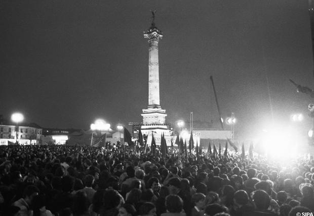 Éphéméride politique> 10 Mai 81, une follesoirée…