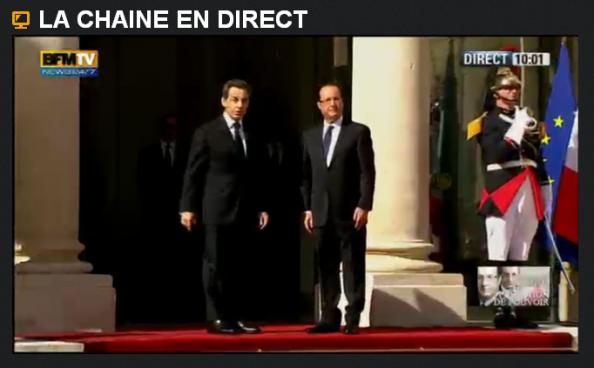 Cérémonie d'investiture de François Hollande> L'intégrale…