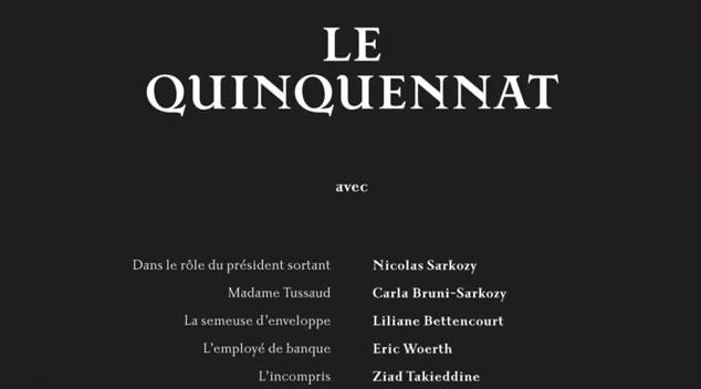 Nicolas Sarkozy> Le vrai générique defin…
