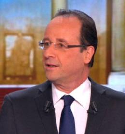 François Hollande, Président de la République…