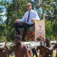 Tintin au Congo, Le prince William d'Angleterre a osé...