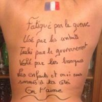 Femmes nues, pour l'honneur de notre armée…