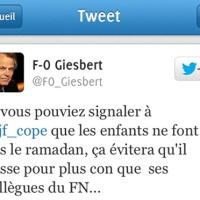 FO Giesbert, JF Copé: La nuit, tous les tweets sont gris...