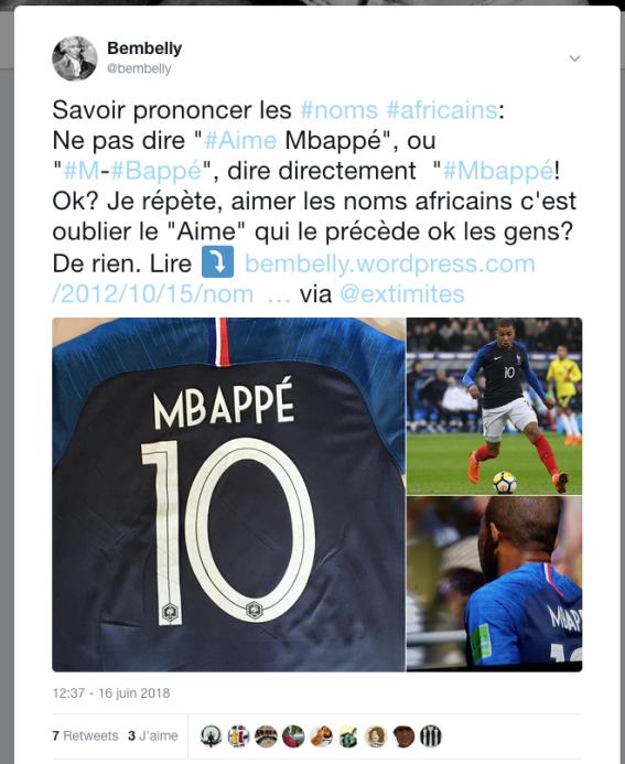 Mbappé CDM2018