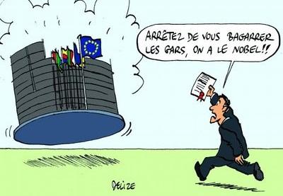 Europe Prix Nobel de la Paix
