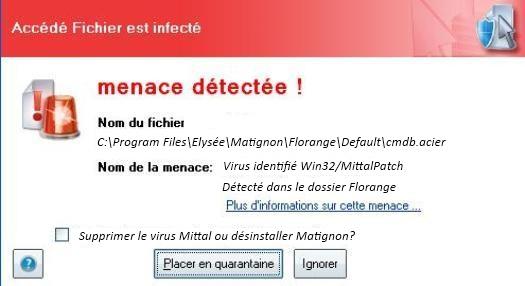 virus Mittal Matignon
