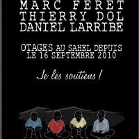 Ces français, toujours otages au Sahel...