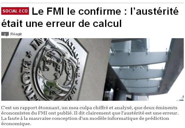 Austérité FMI erreur