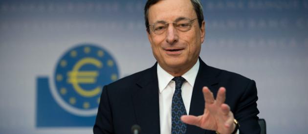 Draghi Conférence de presse BCE