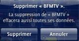 Supprimer BFMTV