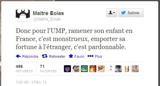 Tweet de maitre Eolas
