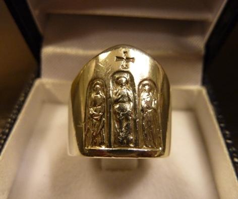 bonne texture à bas prix gamme complète de spécifications L'anneau du Pape en vente sur eBay?… – Extimités (politiques)…