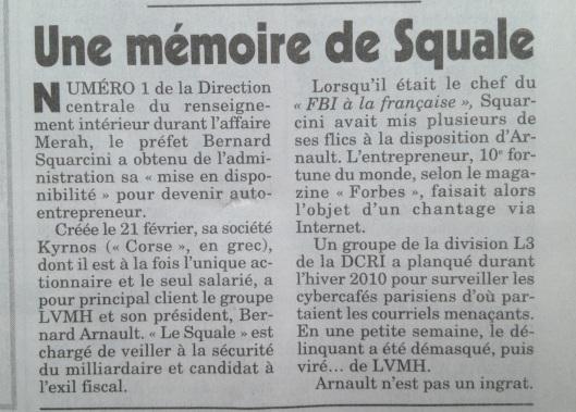 """Un préfet devient """"Garde du corps"""" de Bernard Arnault (LVMH)..."""
